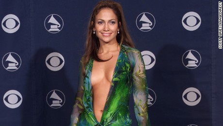 Jennifer Lopez backstage at the 42nd Annual Grammy Awards at Staples Center in Los Angeles, California.