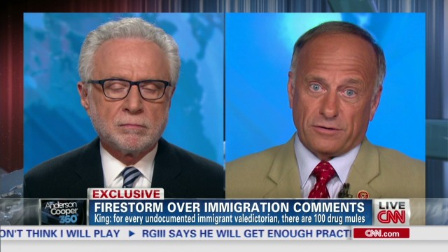 Rep King on immigration controversy