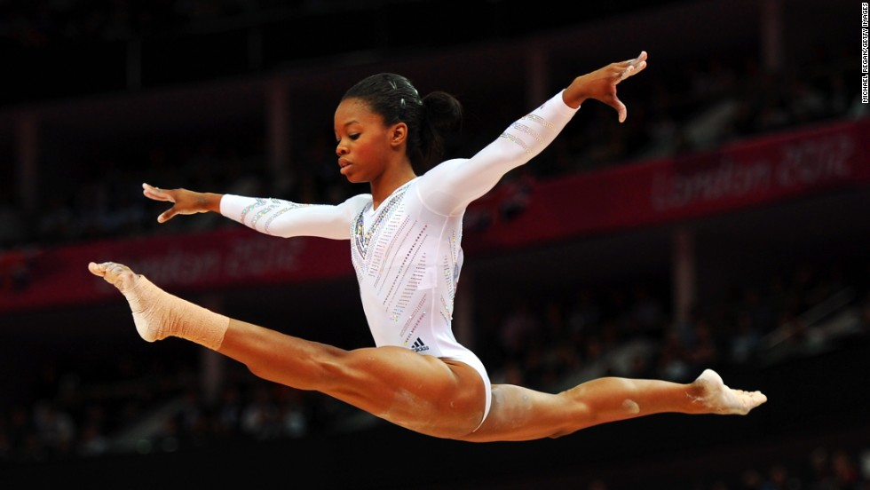 "Douglas, nicknamed ""the Flying Squirrel,"" produced an astonishing showing at London 2012 with a performance that belied her years. From starting off with a few tricks in the family home, she progressed to become one of her country's top gymnasts."