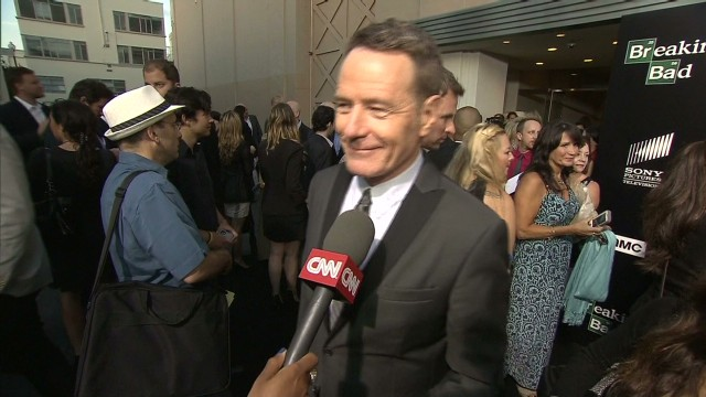 Bryan Cranston shows off new tattoo