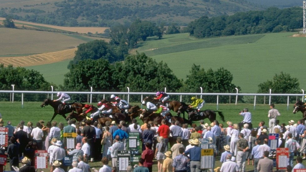 Spectators at Glorious Goodwood benefit from spectacular views over the rolling Sussex countryside.  But the scenery is not the only thing that will attract 120,000 people this week to the Goodwood festival.