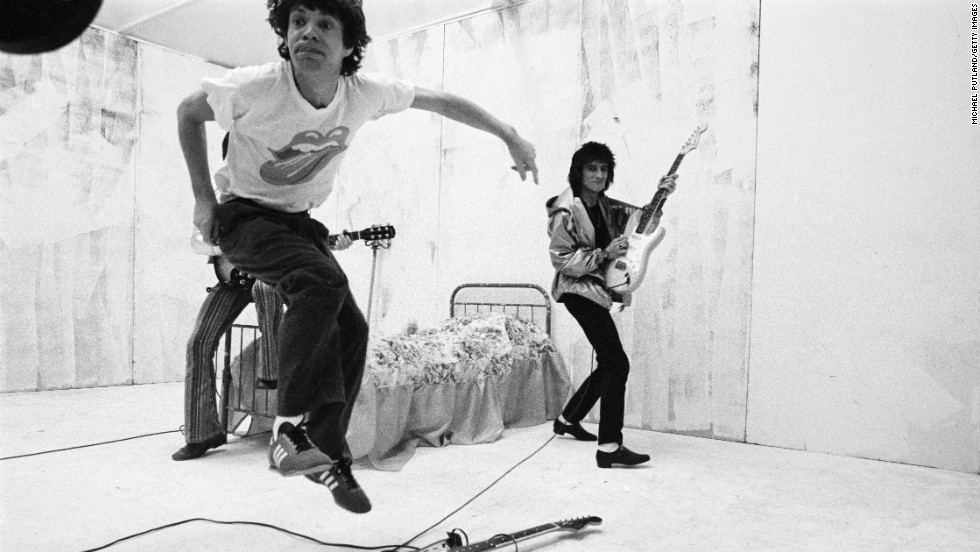 "The Rolling Stones film a music video for the song ""Respectable"" in New York in 1978."