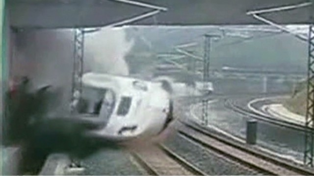 Deadly train crash in Spain