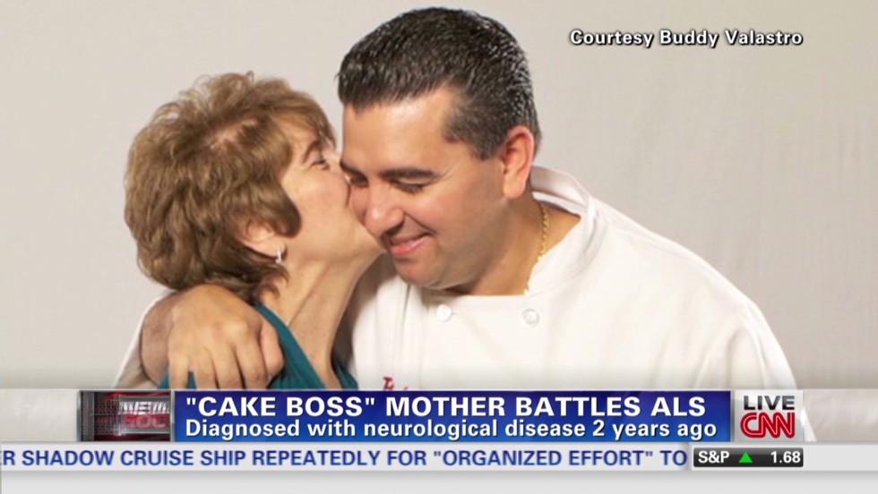 Cake Boss mother battles ALS CNN Video