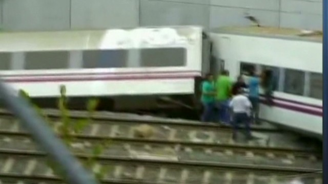 Deadly train derailment in Spain