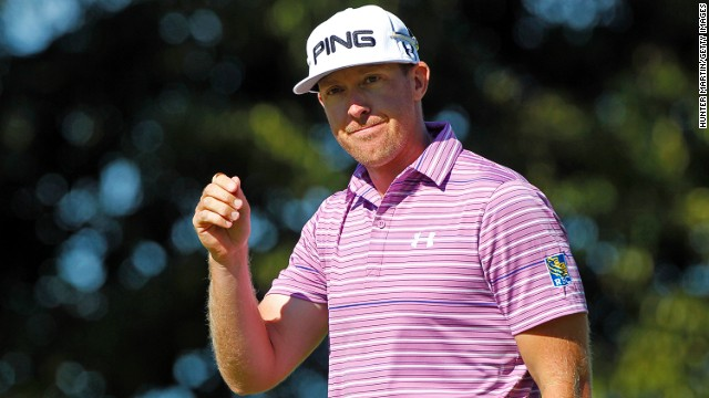 Hunter Mahan returned to Dallas after his wife went into labor.