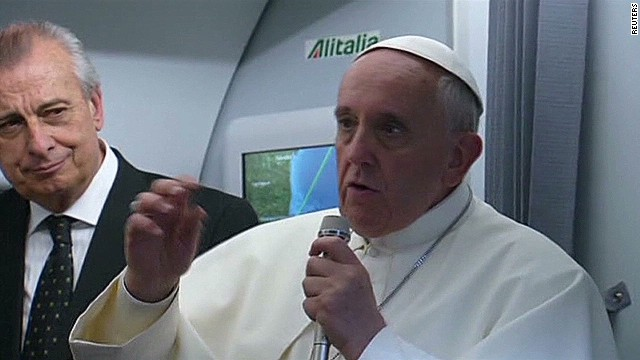 Pope: 'Who am I to judge' gay clergy