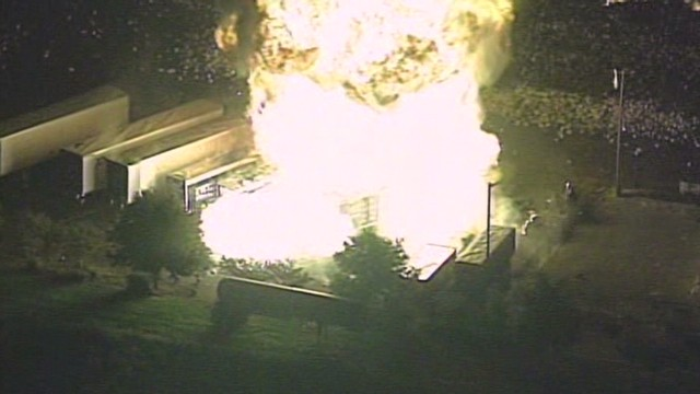 Explosion at propane facility