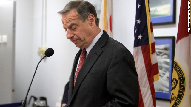 San Diego Mayor Bob Filner announces last week that he will seek professional help for sexual harassment issues.