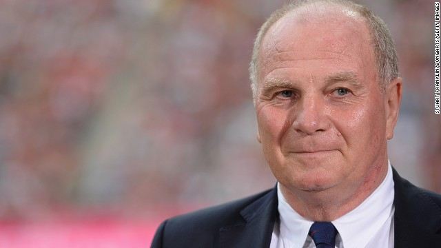 Hoeness won three European Cups as a Bayern player, and oversaw this year's Champions League triumph as club president.