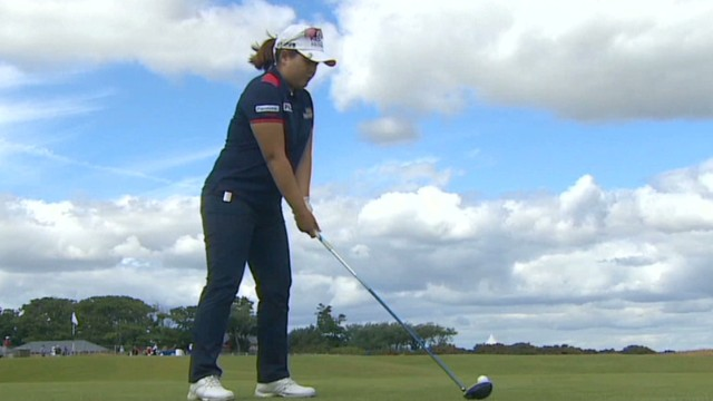 Korean woman to make golf history?