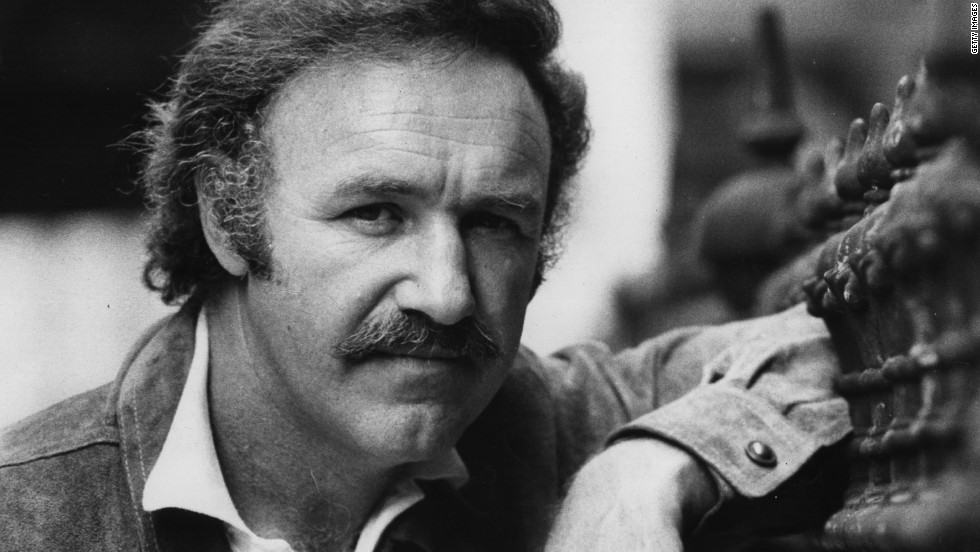 "Gene Hackman's ""reading was nothing, but I believed he could be very good, especially as a gentle, big, dumb nice guy,"" Dougherty said of the actor, seen here in 1973 -- after his ""French Connection"" Oscar."