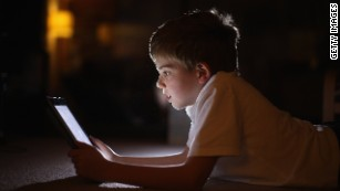 Kids under 9 spend more than 2 hours a day on screens, report shows