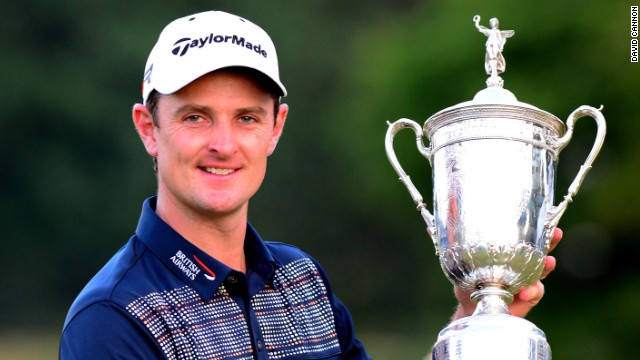 British golfer Justin Rose captured the first major of his career at the U.S. Open