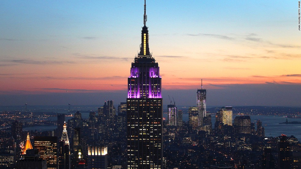 One of New York's most famous landmarks, the Empire State Building earned 8,430 selfies, according to Attractiontix.co.uk.