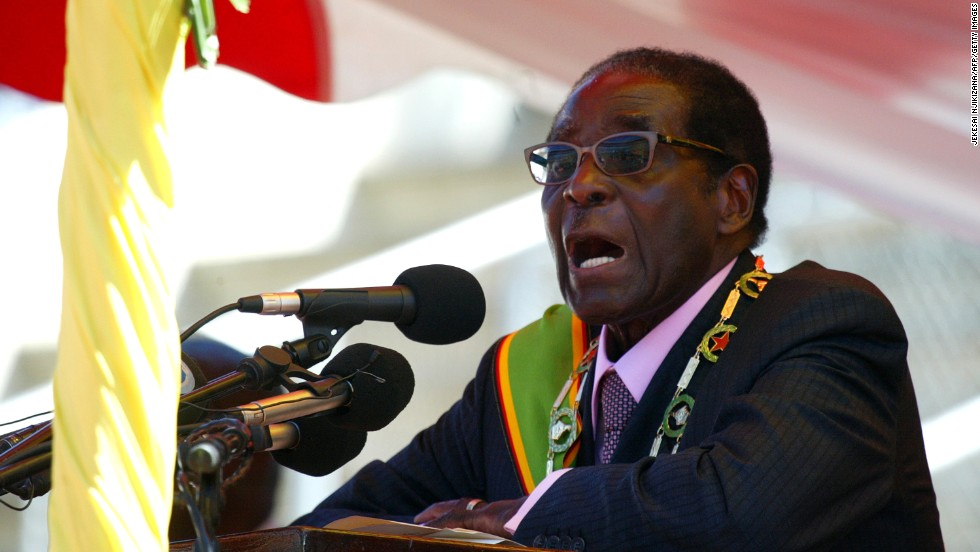 President of Zimbabwe Robert Mugabe is 91 years old, and gained power in 1987. His rule has been highly controversial. He once won the top prize in a lottery organized by a state-owned bank, among other things. His heir apparent is close ally and Vice President Emmerson Mnangagwa, nicknamed 'Crocodile'.