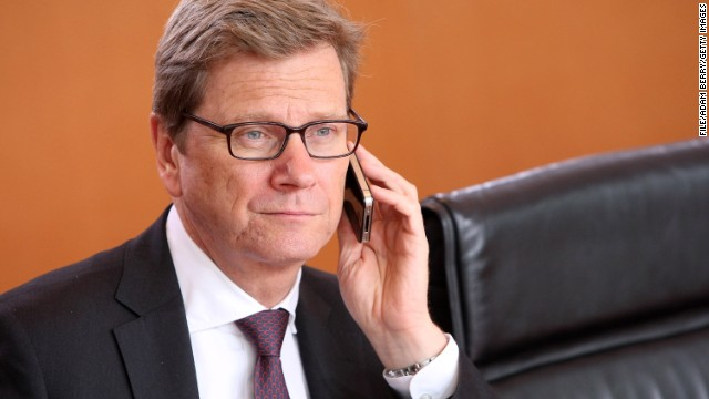 "German Foreign Minister Guido Westerwelle said the cancellation of the information sharing pact with the United States and Great Britain  ""was a necessary and a correct consequence resulting from the latest debates in regards to protect privacy."""