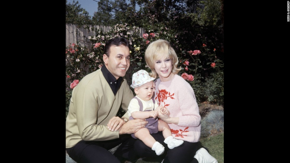 Ansara is shown at home with then-wife Barbara Eden and their son Matthew, 9 months old, in Studio City, California, on May 6, 1966.