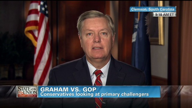 Graham ready for GOP primary challenge