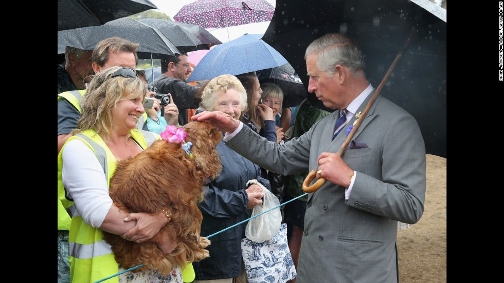 One had a chance to meet Charles, Prince of Wales.