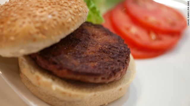 Tasters: Stem cell burgers a bit 'dry'