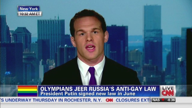 Olympic fears over Russia anti-gay laws