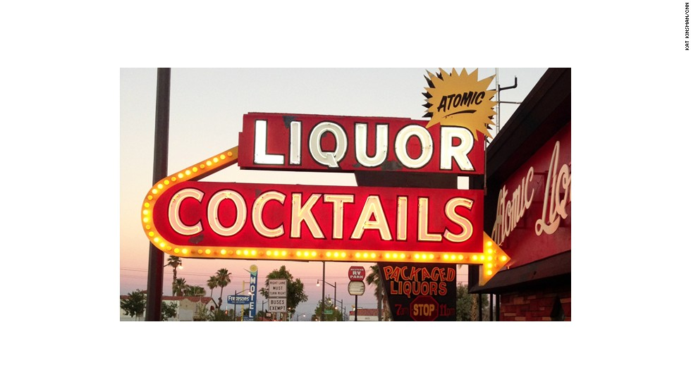 Atomic Liquors, the oldest freestanding bar in Las Vegas, also boasts the city's first package liquor license and off-sales permit.