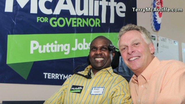 Virginia's gubernatorial candidate Terry McAuliffe under fire
