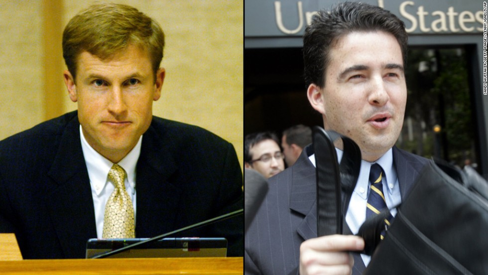 Three days after Murphy resigned, two city councilmen, including then-acting mayor Michael Zucchet, were convicted of conspiracy, extortion and fraud.  Zucchet, left, and Ralph Inzunza were convicted for taking campaign contributions in exchange for pushing the repeal of a city regulation that banned strip-club dancers from touching patrons.  A third councilman, Charles Lewis, was also indicted, but he died before he could be brought to court. The regulation still stands, and there was never a vote on whether it should be repealed.