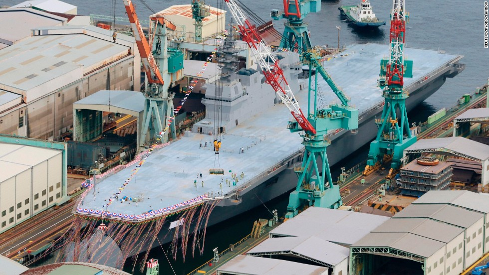 The Japan Maritime Self-Defense Force insists its new ship is not an aircraft carrier and will not be used to launch military jets.