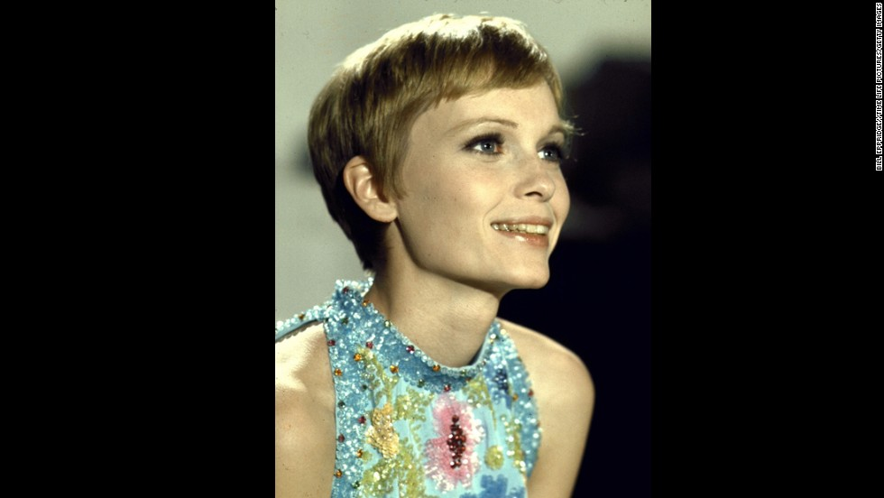 "If you walk into a salon and ask for the ""Mia Farrow,"" the stylist will know exactly what you're talking about. Farrow's '60s pixie is iconic -- and it's also one she cut herself. The actress <a href=""http://www.nytimes.com/2013/01/24/fashion/setting-the-record-and-the-hair-straight-mia-farrow-weighs-in-on-her-60s-pixie.html?_r=0"" target=""_blank"">told the New York Times</a> in a letter to the editor that she shaped her 'do with a pair of fingernail scissors while working on 1964's ""Peyton Place,"" and then went shorter at the hands of Vidal Sassoon for ""Rosemary's Baby."""