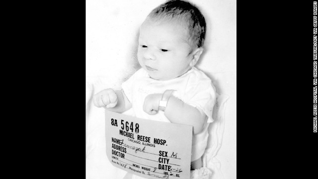 Photo of Paul Joseph Fronczak shortly after he was born at Michael Reese Hospital on April 26, 1964. The baby was abducted a few days after he was born. (Michael Reese Hospital via Chicago Tribune/MCT via Getty Images)