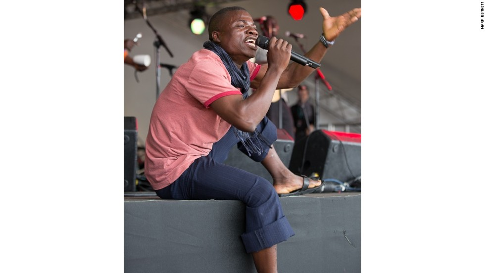 """It was remarkable to see,"" says Brennan of the Womad show. ""Having never even been on a stage before, never sung with amplified microphones before, to going all the way to really putting on a show."""