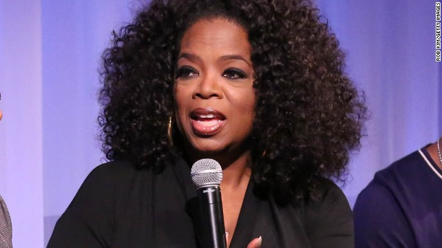 Oprah Winfrey attends an official Academy of Motion Picture Arts and Sciences member screening of Lee Daniels' 'The Butler' on August 6, 2013 in New York City.