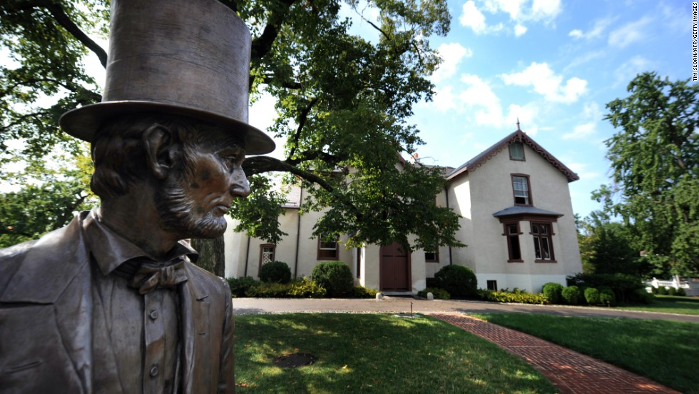President Abraham Lincoln's summer retreat was just a few miles from the White House, and he used to commute between the two on horseback. Now known as the Lincoln Cottage, it features a life-size statue of the 16th president.