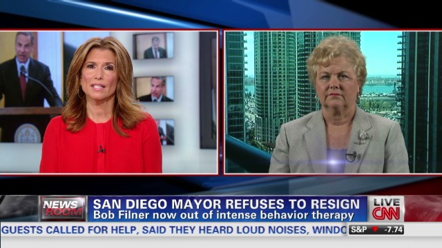 San Diego Mayor Out of Therapy
