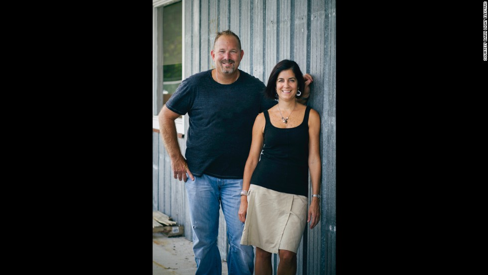 Owners Bryan and Donna Scott began their hobby of fixing antique lighting after receiving several antiques as wedding gifts. It grew into their company, Barn Light Electric.