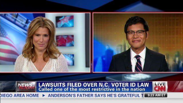 Lawsuits filed over N.C. Voter ID Law