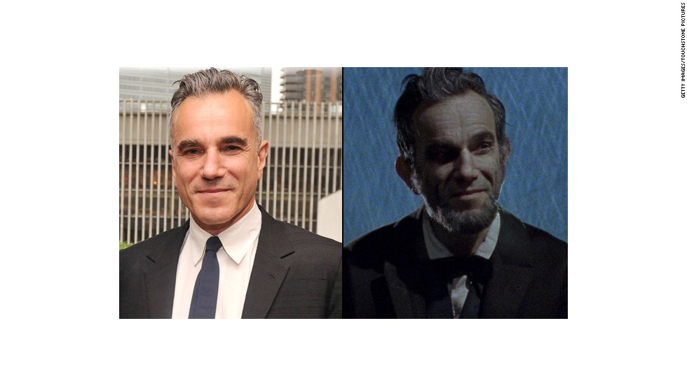 "Daniel Day-Lewis looked presidential enough to appear on currency in 2012's ""Lincoln."" His performance as the 16th president earned Day-Lewis his third Oscar for best actor."