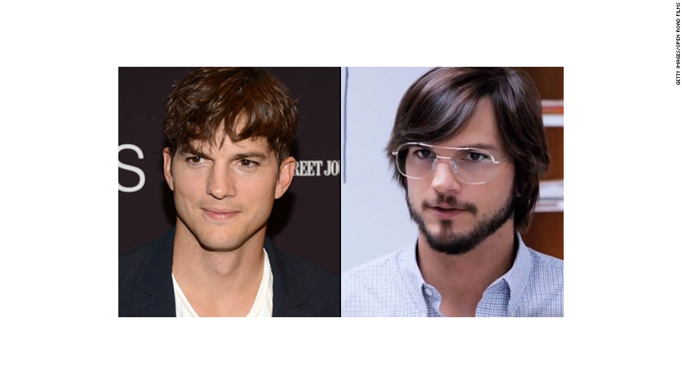 "Ashton Kutcher had the good fortune of looking like Steve Jobs' long-lost cousin, so transforming himself into the icon of innovation didn't take much for the ""Jobs"" biopic. But it's amazing what the haircut, glasses and beard can do."