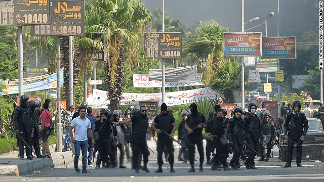 Several reported killed in Egypt clashes