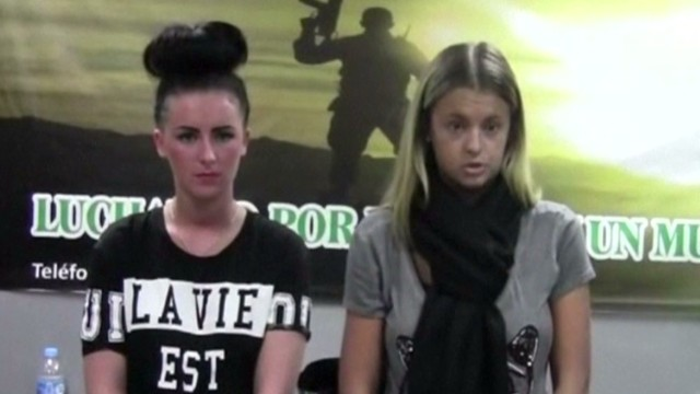 2013: British women accused of smuggling drugs
