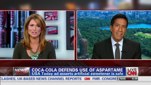 Coca-Cola ad defends use of aspartame