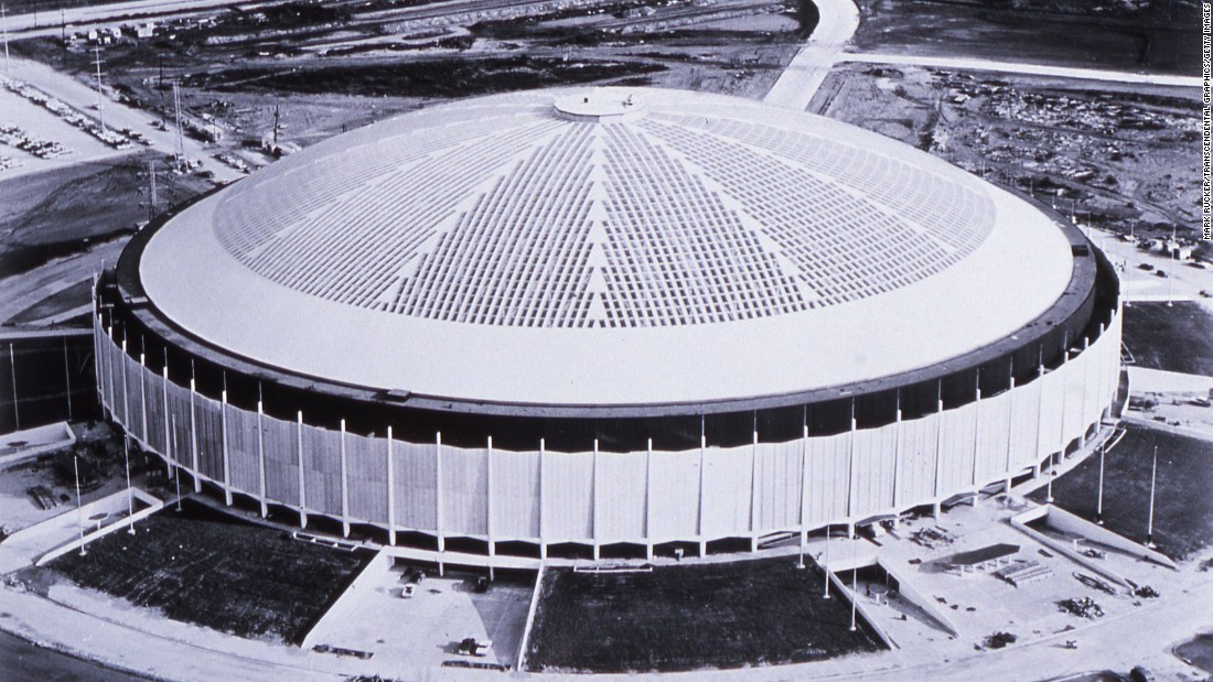 "Houston's Astrodome was nicknamed the ""eighth wonder of the world"" when it opened 50 years ago Thursday, in April 1965. It was the first of its kind: a massive air-conditioned stadium with a roof. Here's a look back at some memorable events the famous venue once hosted."