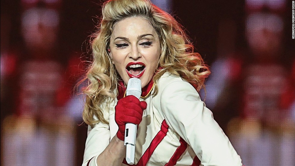 "Madonna <a href=""http://www.cnn.com/2013/08/16/showbiz/celebrity-news-gossip/madonna-55th-birthday-gallery/index.html"">turned 56 on August 16, </a>and she hardly looks it."