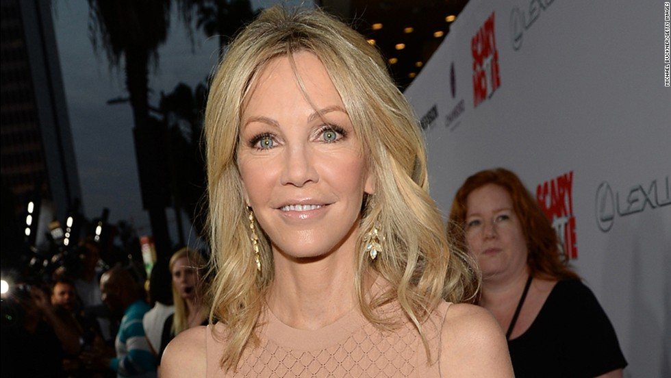 Heather Locklear hardly looks 53.