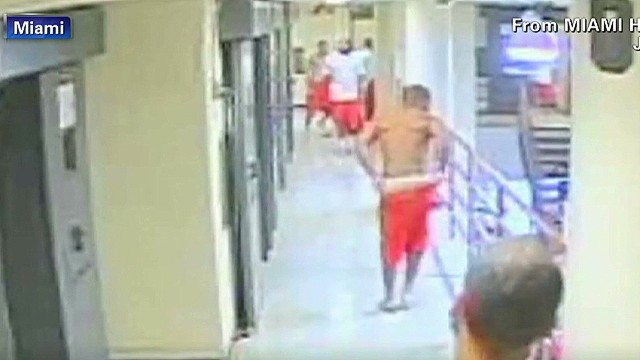 Inmates attack after cell doors open