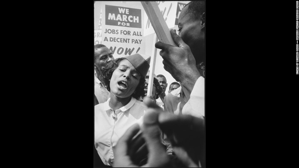 "Though the name March on Washington""is well known, the full title of the gathering the March on Washington for Jobs and Freedom."