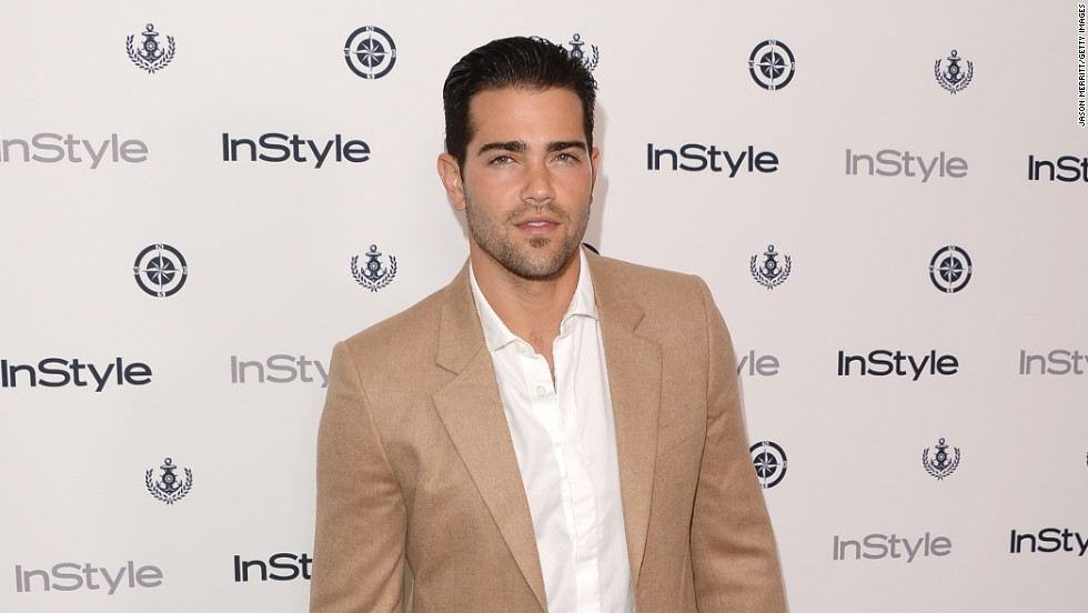 Jesse Metcalfe smolders at the InStyle Summer Soiree held in West Hollywood, California on August 14.