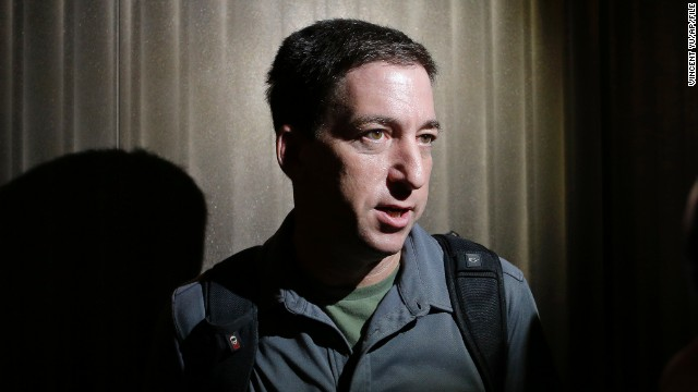 Why was Glenn Greenwald's partner detained?